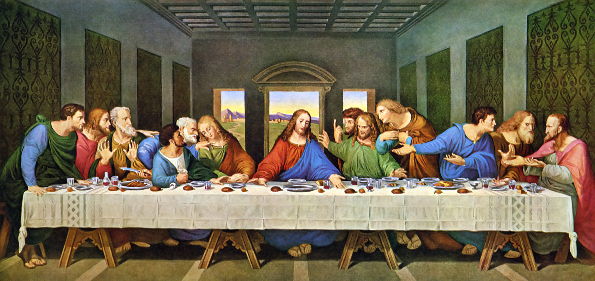 The Last Supper Restored, Leonardo Da Vinic | Minerva ... Da Vinci Last Supper Restored