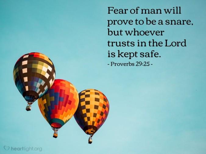 proverbs 29_25